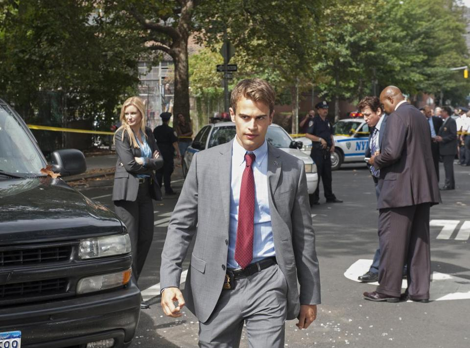 "The CBS series ""Golden Boy"" follows William Clark (Theo James), who ascends from hero cop to homicide detective to police commissioner."