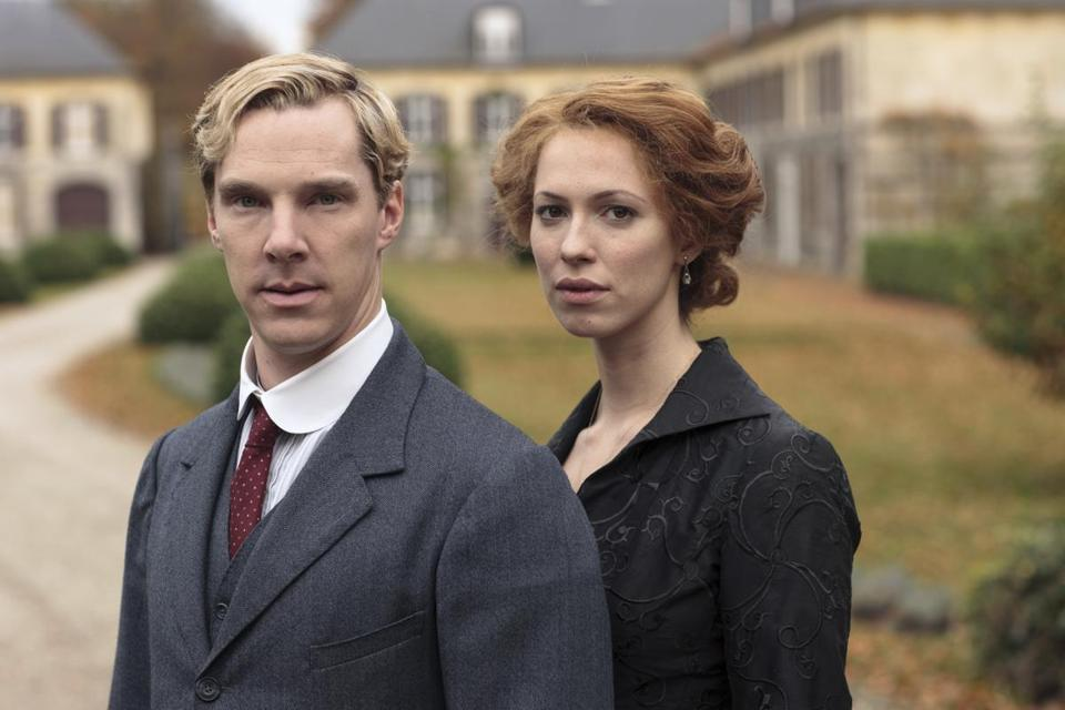 Benedict Cumberbatch plays a brainy aristocrat and Rebecca Hall a promiscuous woman who corners him into marriage.