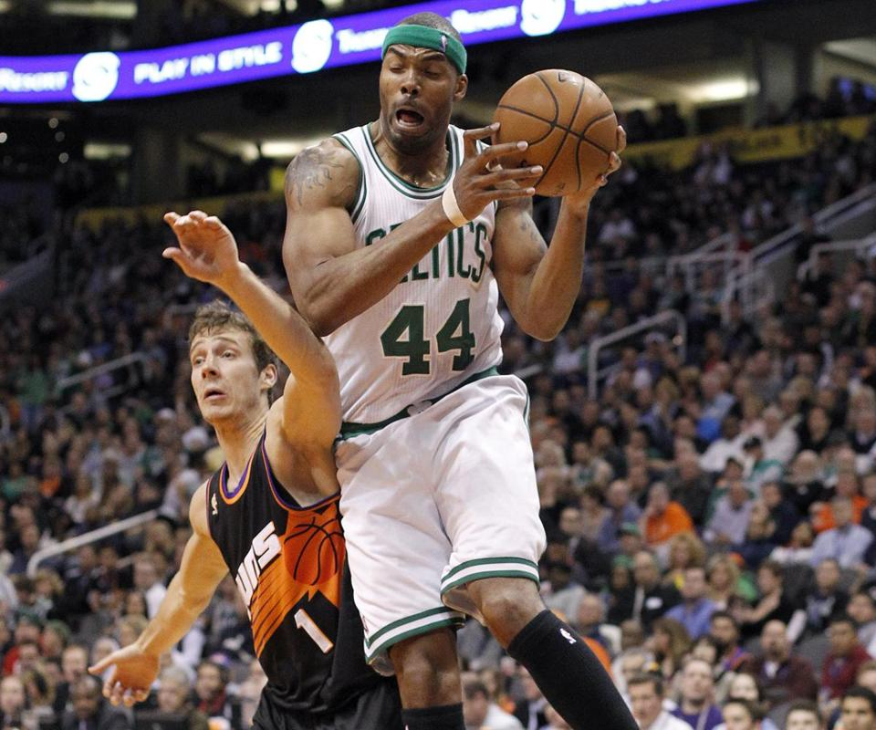 The Celtics recently started center Chris Wilcox for the first time this season as Paul Pierce moved from small forward to shooting guard.
