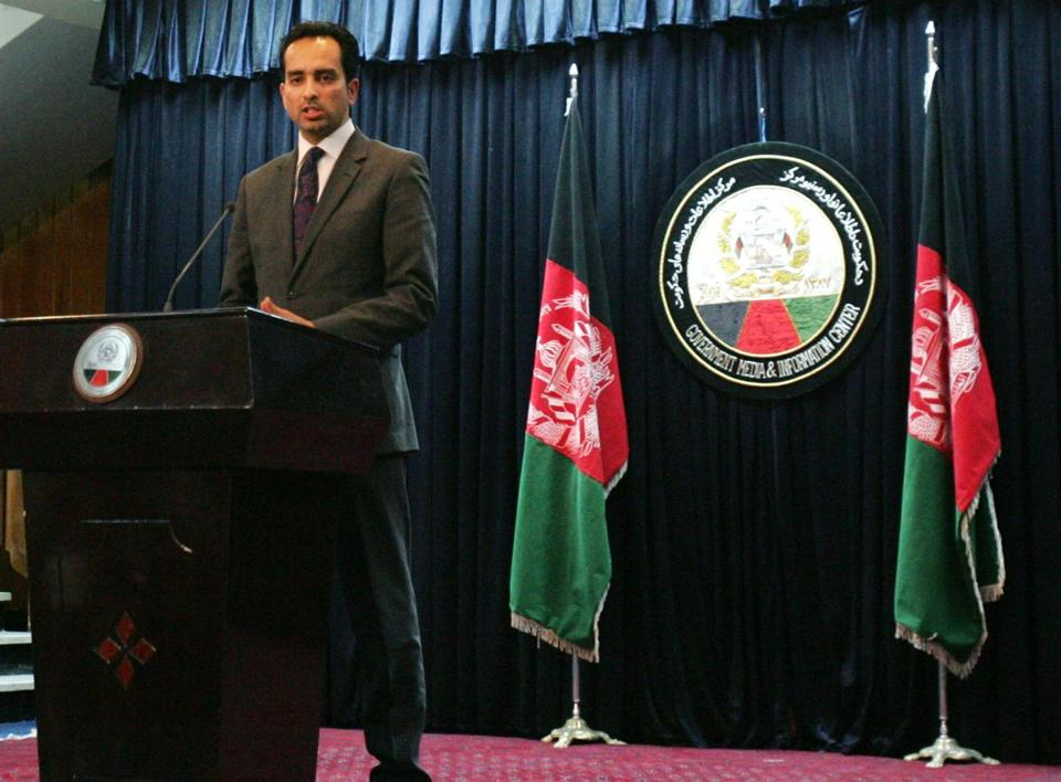 Spokesman Aimal Faizi said during a press conference in Kabul that the country's president said all US special forces must leave Wardak province.