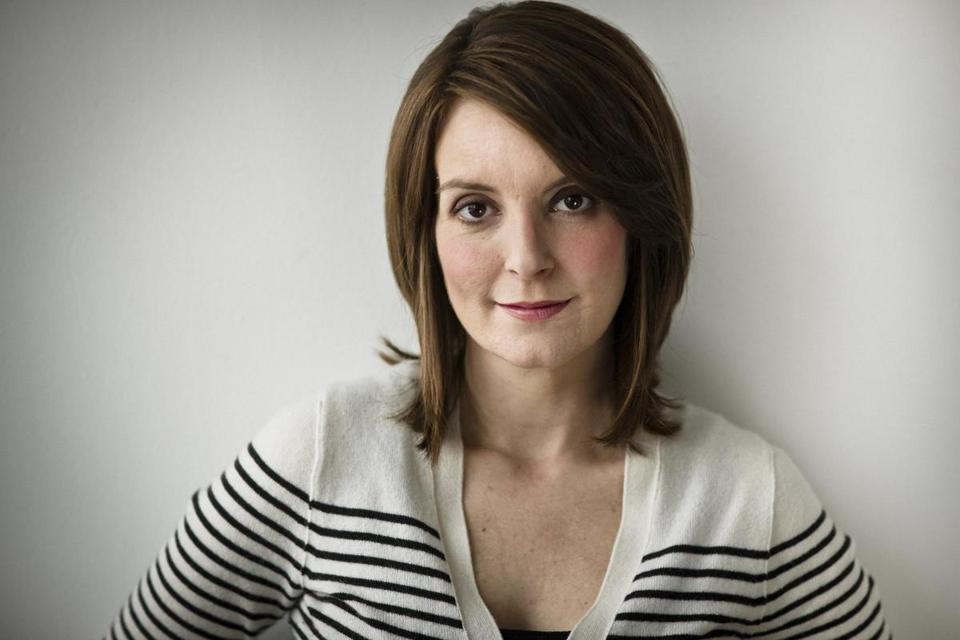 Tina Fey Just Being Herself The Boston Globe
