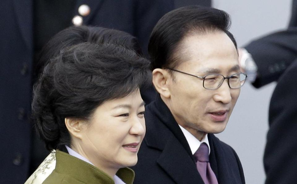 Park Geun-hye is Seoul's first female leader.