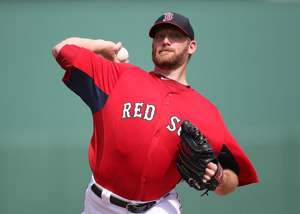 Ryan Dempster threw two scoreless innings, allowing no hits with two strikeouts.