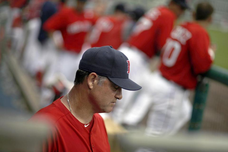 John Farrell and the Red Sox front office have some decisions to make about the team's roster.