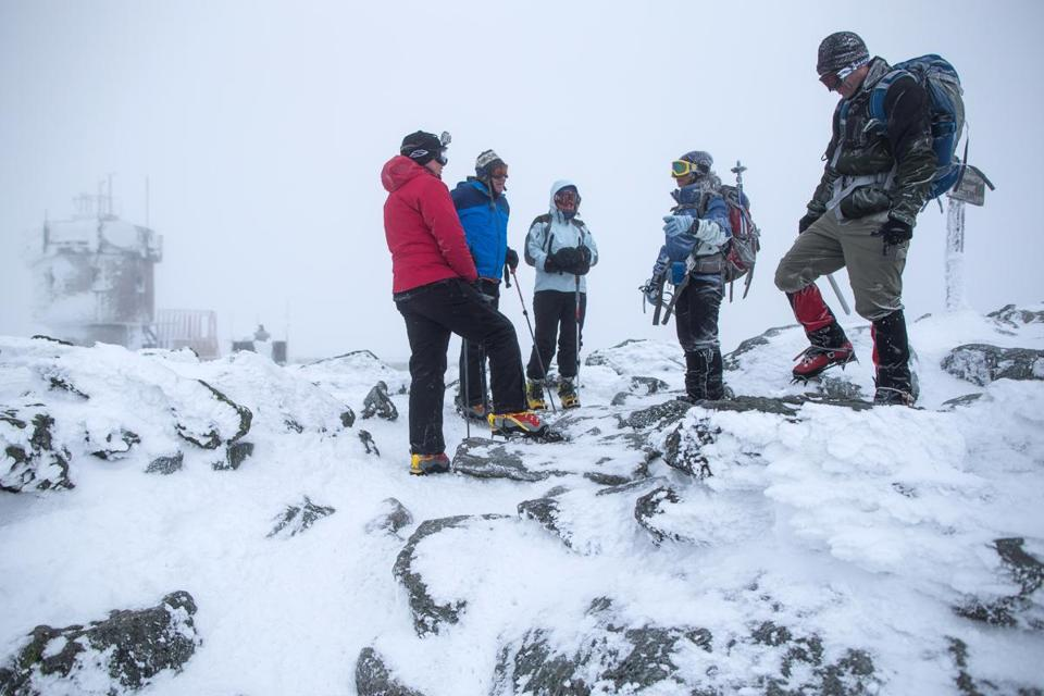 Guided day trips to the top of Mount Washington — in winter — just might burn off a few calories.