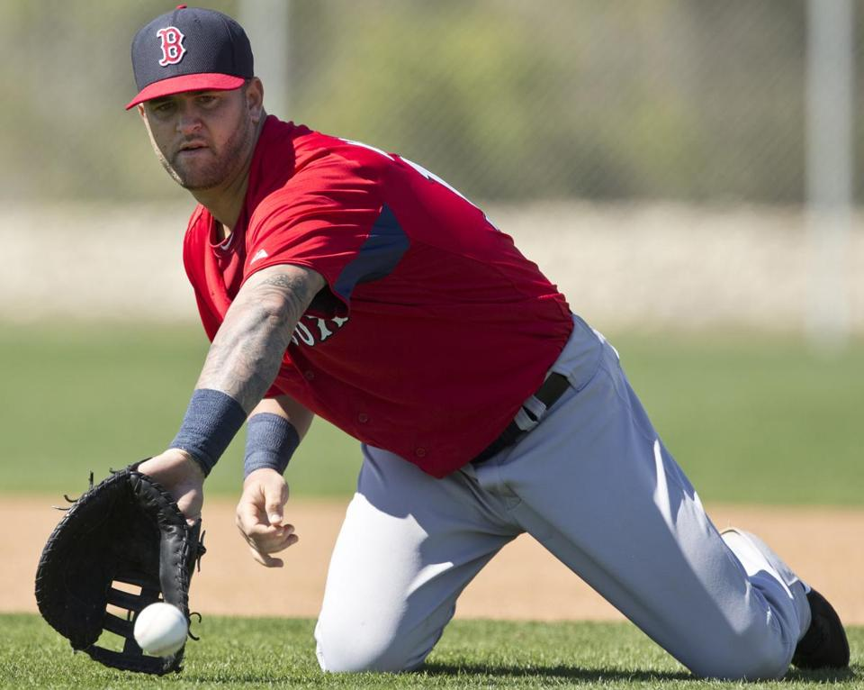 Mike Napoli has been brought along slowly after being diagnosed with a degenerative hip condition.