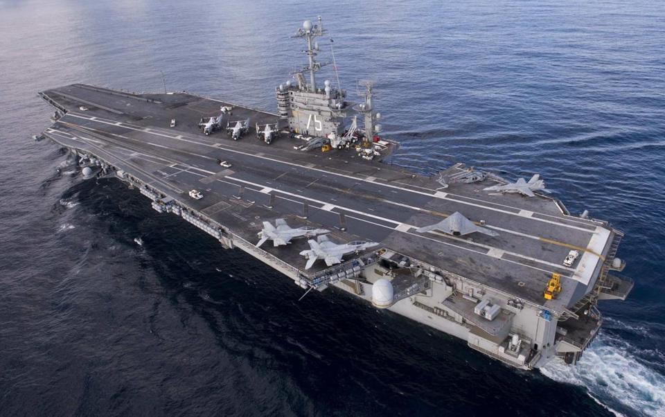 USS Harry S. Truman's tour of duty will be delayed to to sequestration.