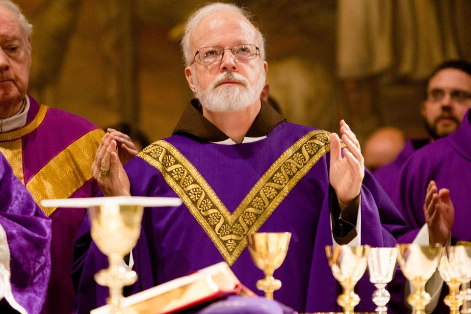 Cardinal Sean P. O'Malley celebrated Mass in Rome.