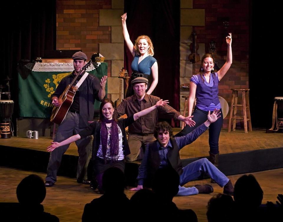 """The Irish and How They Got That Way"" is running at the Davis Square Theatre in Somerville."