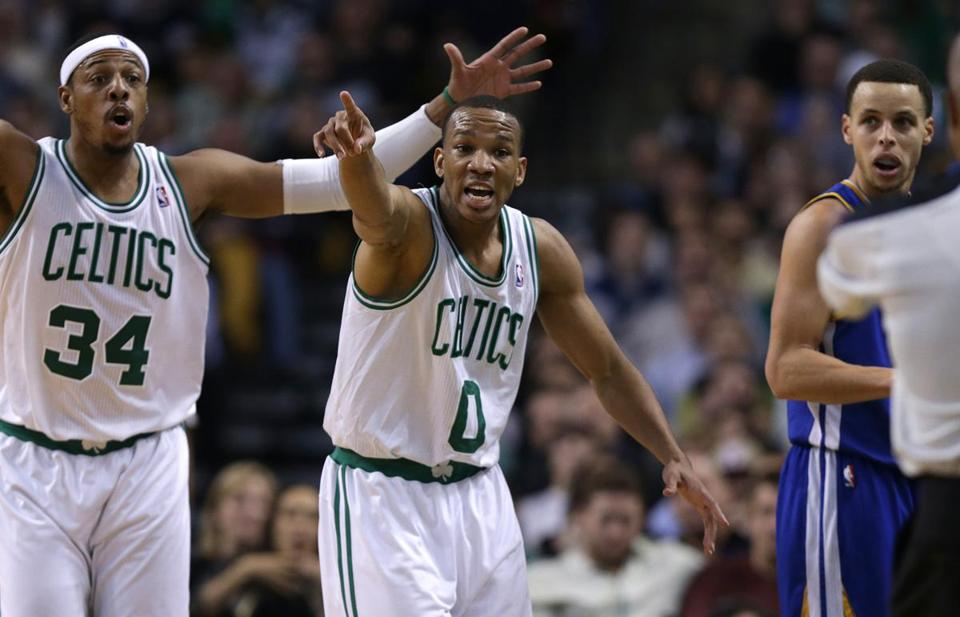 Celtics guard Avery Bradley usually lets his defense do the talking.