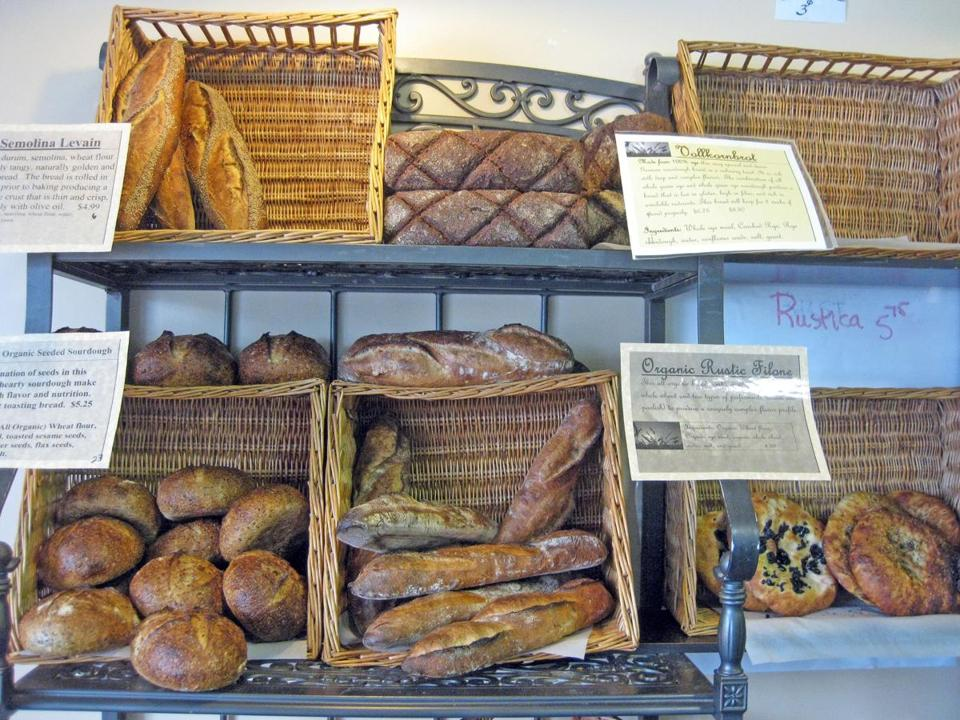 Annarosa's Bakery offers a variety of hearth-oven baked breads.