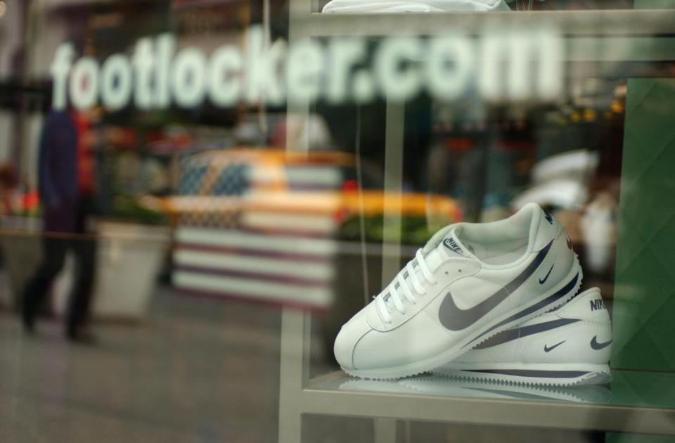 Foot Locker said profit reached $104 million.