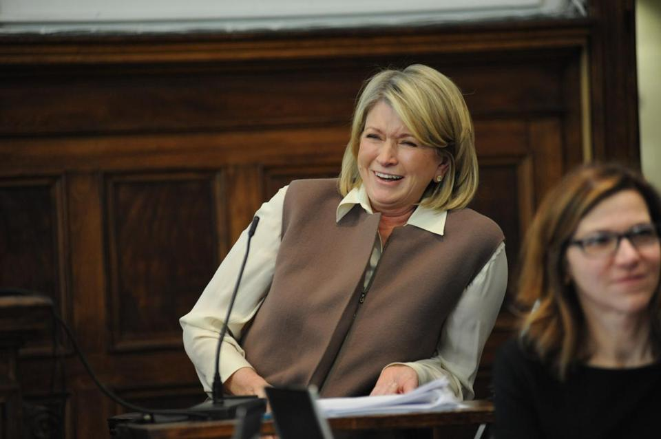 Martha Stewart has testified that she was surprised a dispute involving Macy's and J.C. Penney ended up in court.