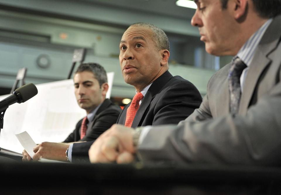 Governor Deval Patrick, who is seeking $1.9 billion for transportation, has threatened to veto the House proposal.