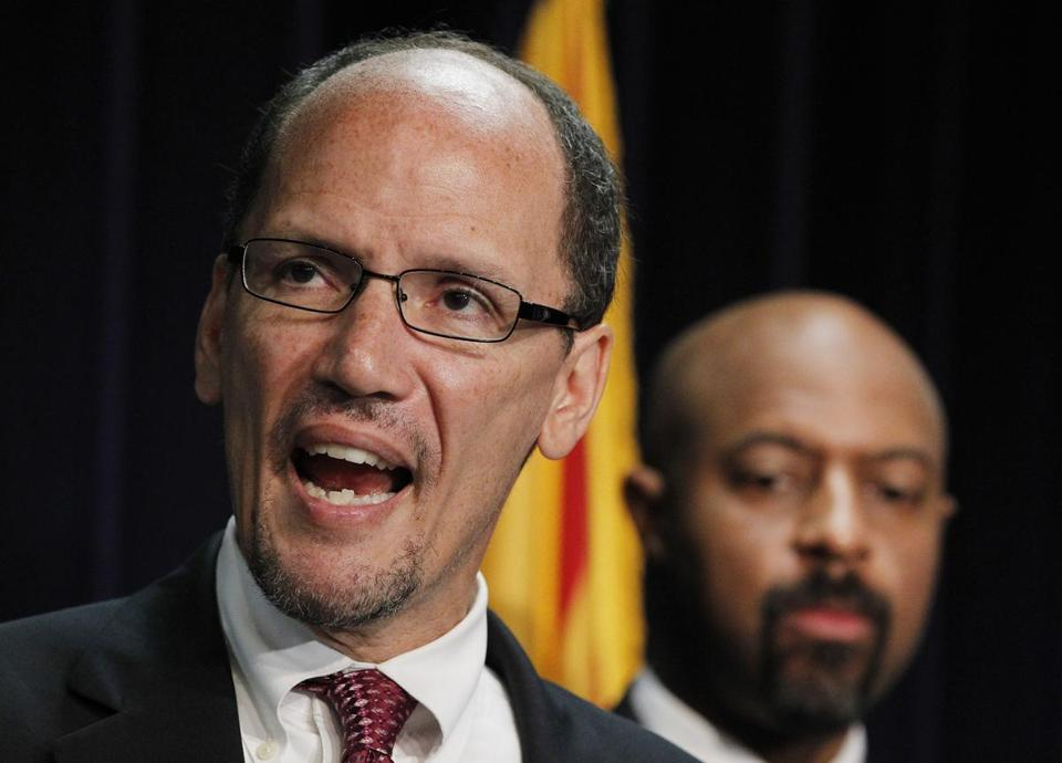 Potential nominee: Thomas Perez's appointment would come as Obama pushes a major immigration overhaul.