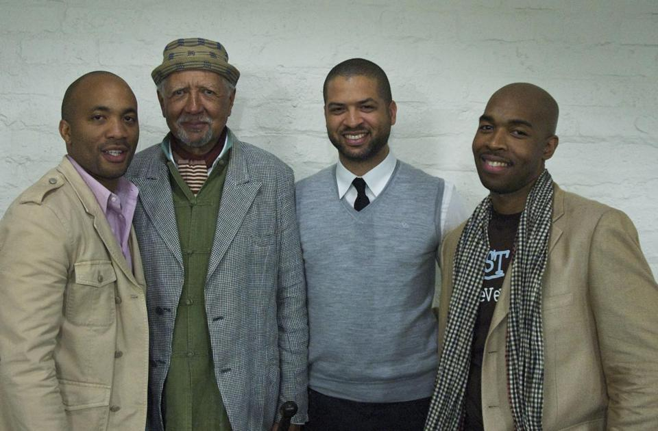 From left: Reuben Rogers, Charles Lloyd, Jason Moran, and Eric Harland.