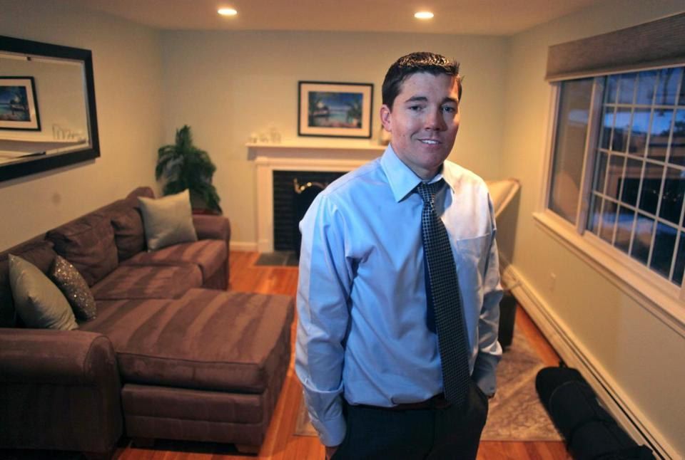 Dustin Pevear last year bought what was at the time the least expensive house in Wellesley, which he and his wife have since refinished.