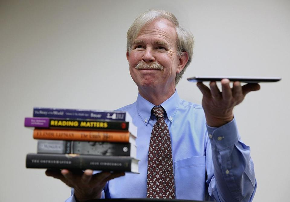 Robert Maier, as director of the Massachusetts Board of Library Comissioners, has seen major changes in how information is obtained.