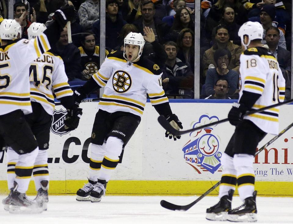 Lately, Milan Lucic, David Krejci and Nathan Horton have been first-liners in name only.