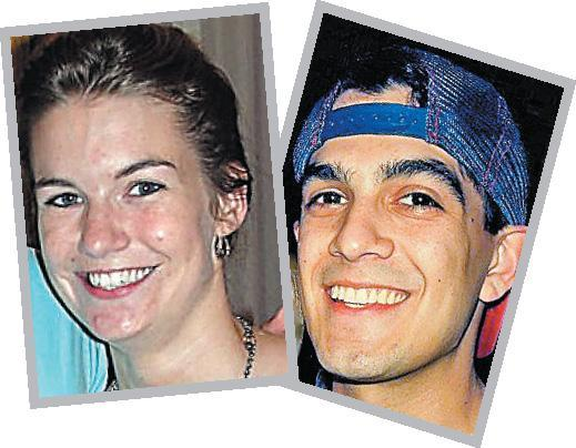 Kathleen Dillon, 24, and Dan Stewart, 23.