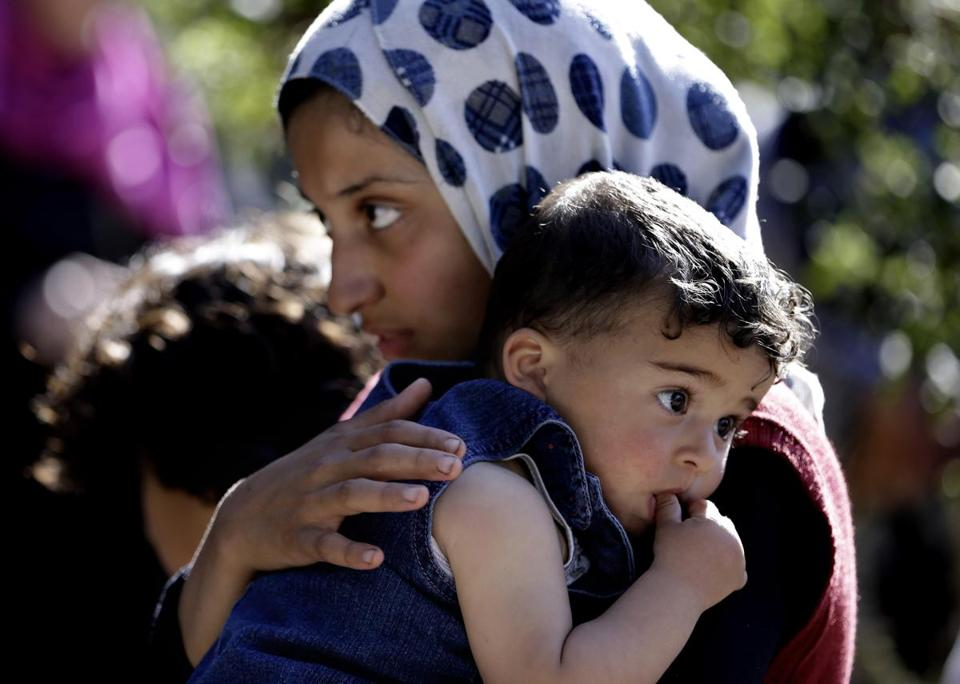 The United Nations said the number of registered Syrian refugees jumped 10 percent in the past week alone.