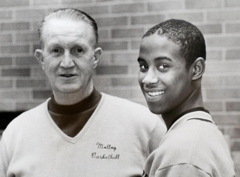 Mr. Curran guided many stars, including Kenny Anderson.