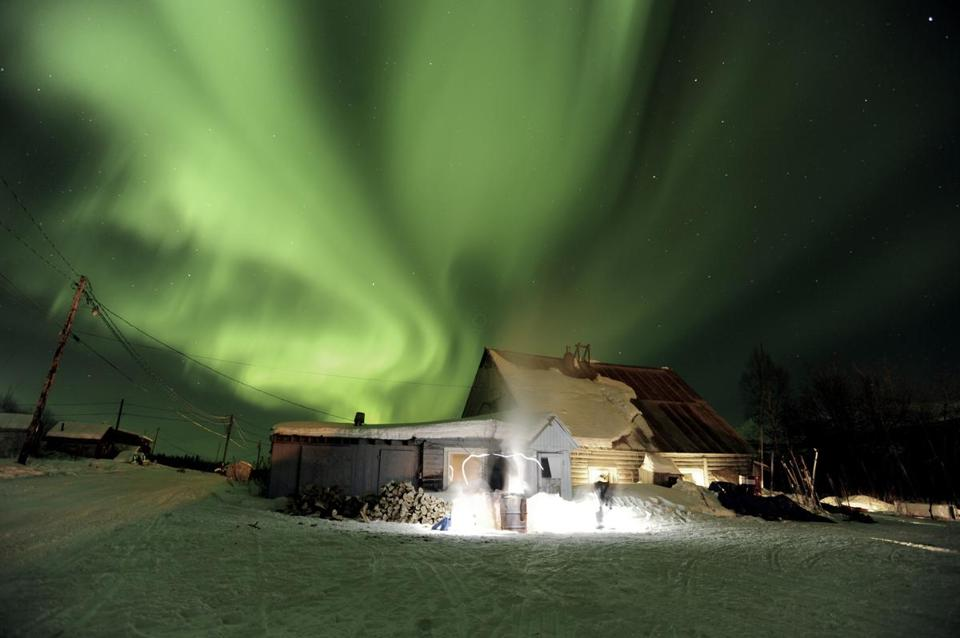 Area residents have a better than 50 percent chance of seeing the northern lights this weekend due to a solar eruption.