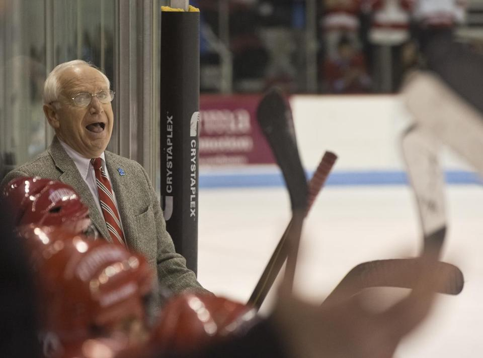 BU coach Jack Parker is well aware that his career could end at the hands of rival BC.