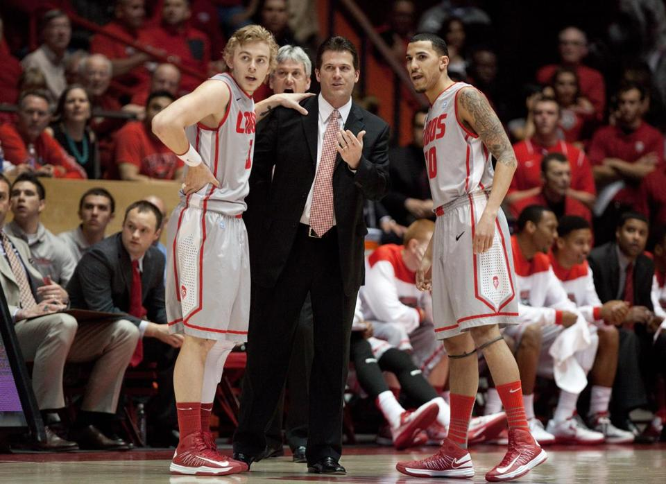 New Mexico is coached by former Indiana star Steve Alford.
