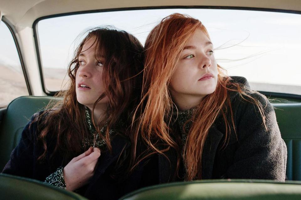 "Alice Englert plays Rosa, who is attracted to the father of best friend Ginger (Elle Fanning) in Sally Potter's ""Ginger & Rosa."""
