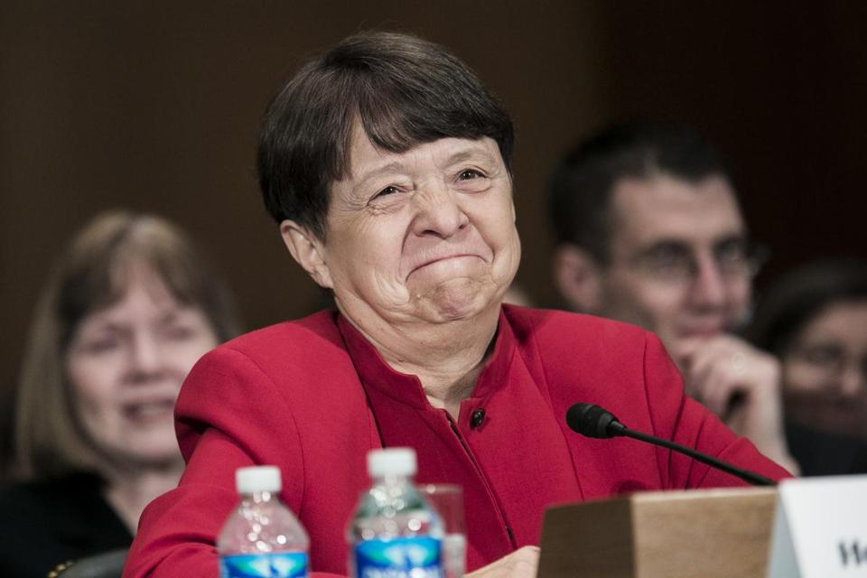 Mary Jo White has served as US attorney in New York City, and is expected to be confirmed by the full Senate.