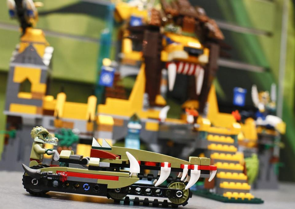 Lego predicted the new factory will be able to supply 70 to 80 percent of the toys it sells in Asia in 2017.