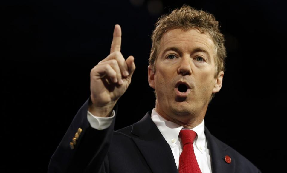 US Senator Rand Paul.