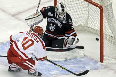 Danny O'Regan, whose father was a Terrier, is bidding to become the first freshman to lead BU in scoring since 1990.