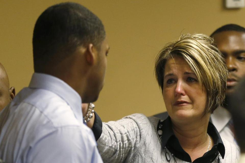 Jennifer Agresta reached out to Ma'lik Richmond after he and codefendant Trent Mays were convicted Sunday of rape in a juvenile court in Steubenville, Ohio. Agresta was once Richmond's guardian.