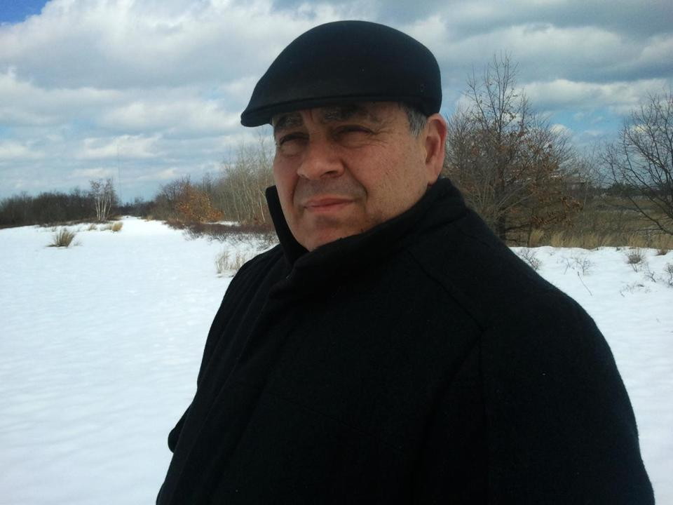 Former Saugus selectman Peter Manoogian opposes the sand removal project at Rumney Marsh.