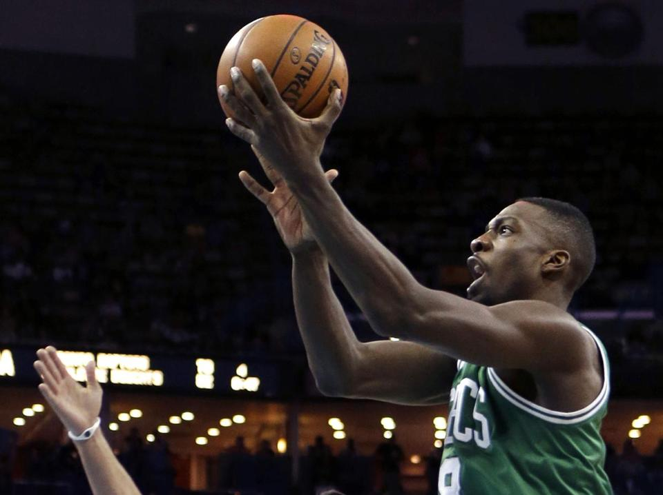 Jeff Green, who scored 43 points Monday, responded in the first quarter against New Orleans with 11 points but he scored just 2 points the rest of the way.