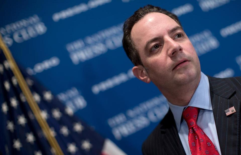 Republican National Committee chairman Reince Priebus plans to reach out to minority voters.