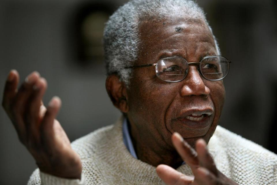 Novelist Chinua Achebe in 2008.