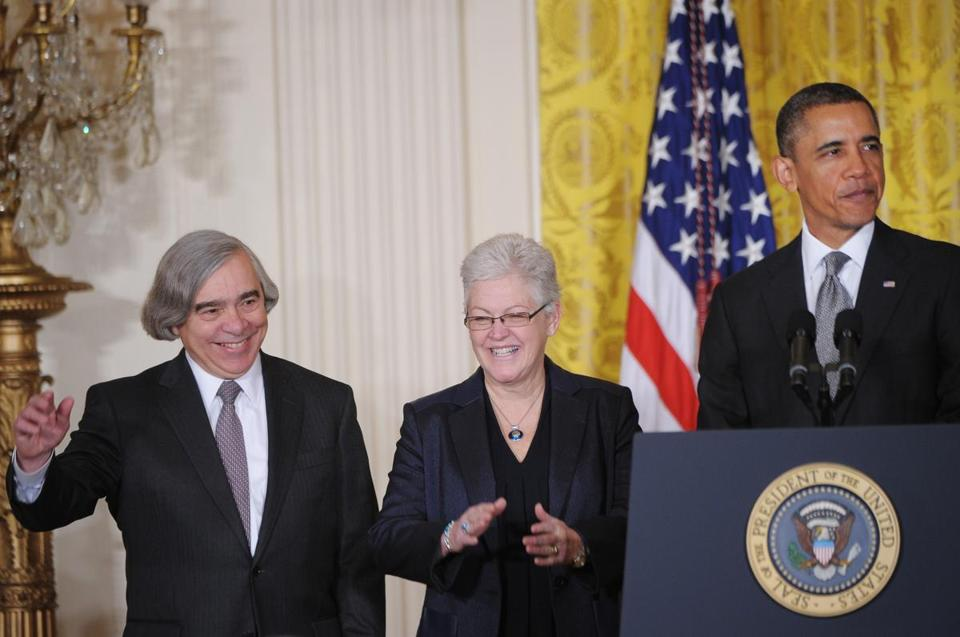 Ernest Moniz has served in paid positions on corporate boards in the energy industry.