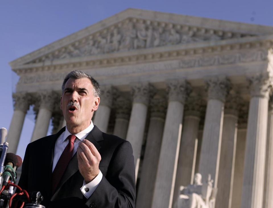 Solicitor General Donald Verrilli calls payments to stop sales of generics unlawful.