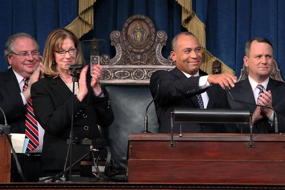 Governor Deval Patrick has been trying to win support on Beacon Hill for his plan for $1.9 billion in tax increases to help pay for education, transportation, and other programs.
