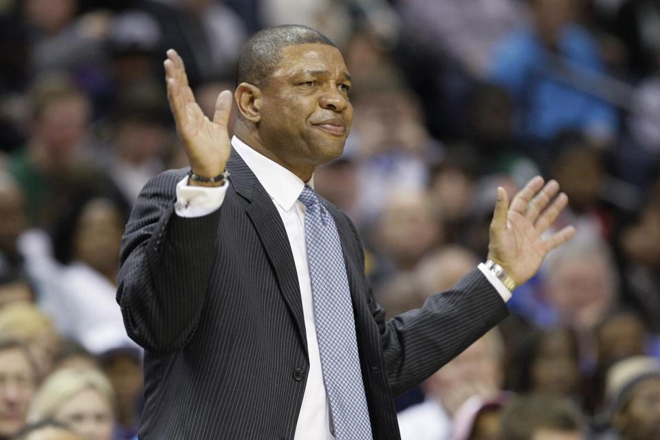 Celtics coach Doc Rivers
