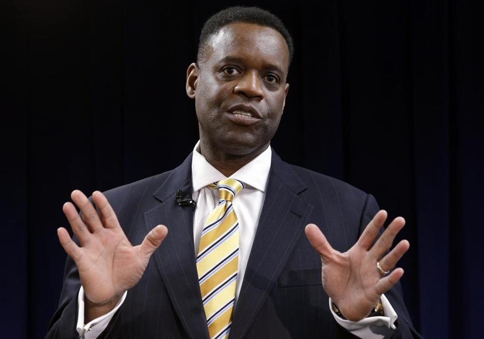 Monday was Kevyn Orr's first day as Detroit's emergency manager.