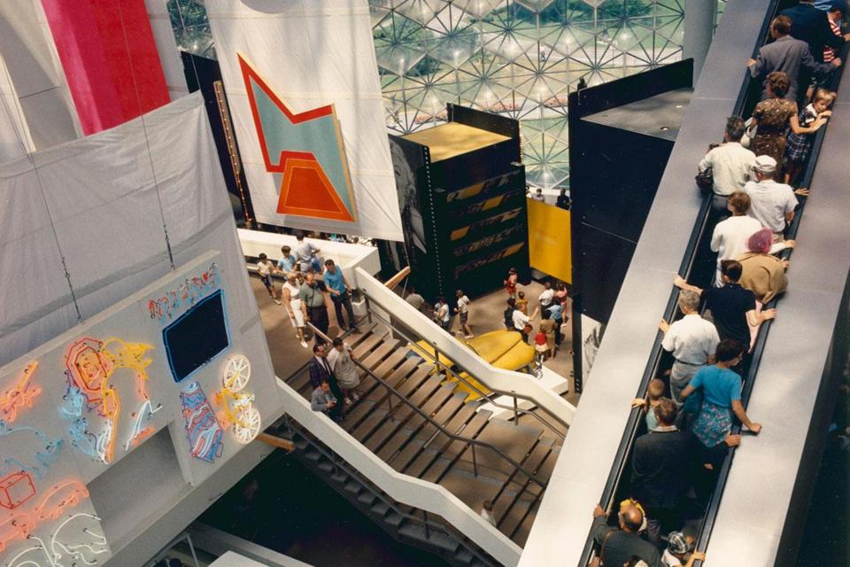 Mr. Rankine had a hand in designing the US Pavilion at Expo 67 in Montreal.