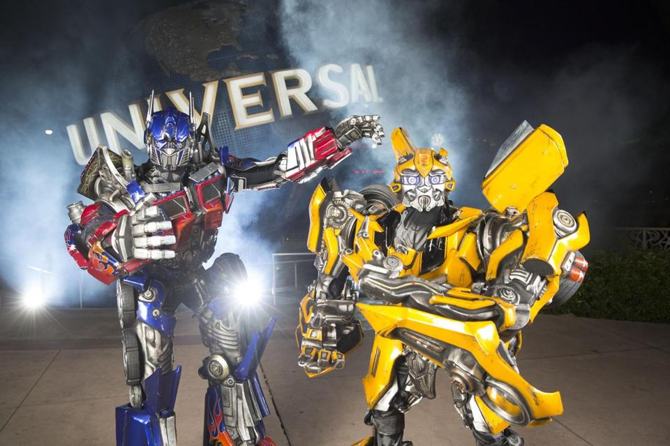 Universal Orlando Resort's theme park Universal Studios Florida will feature the intergalactic battle between the Autobots and the Decepticons in its Transformers: The Ride — 3D opening this summer.