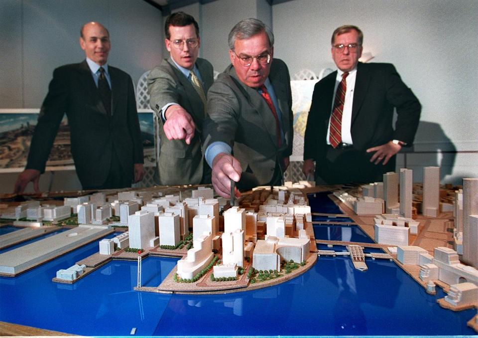 Mayor Thomas M. Menino ushered in an era of building in 1997 with a plan for the South Boston Waterfront.