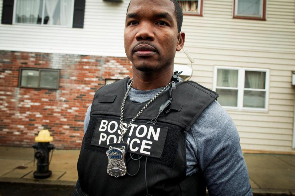 "Winston DeLeon, a 9-year veteran of the force, is on ""Boston's Finest."""