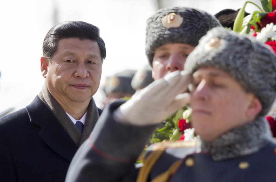 Russia was Xi Jinping's first foreign destination as China's president.