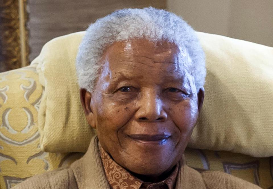 Nelson Mandela has an infection in his lungs.